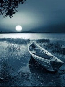 boat and night
