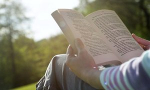 Reading-a-book-