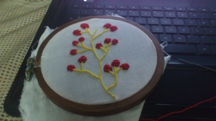 red and yellow embroidery 2