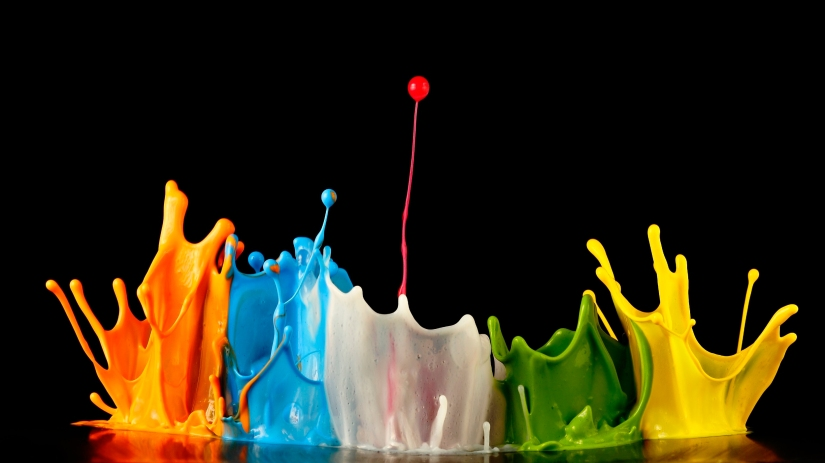 colors-paint-splash-orange-blue-green-yellow-white-drop-black-background